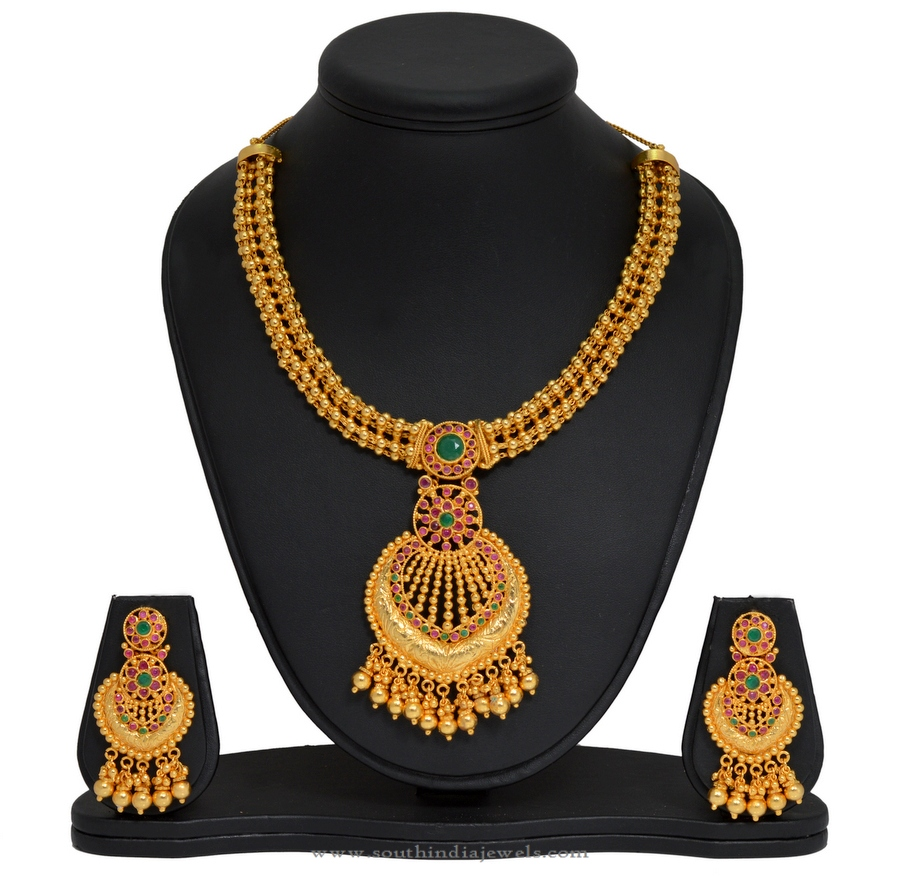 Gold Plated Jewellery Necklace