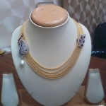 Gold Multilayer Designer Necklace
