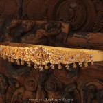 Gold Temple Jewellery – Ottiyanam Design