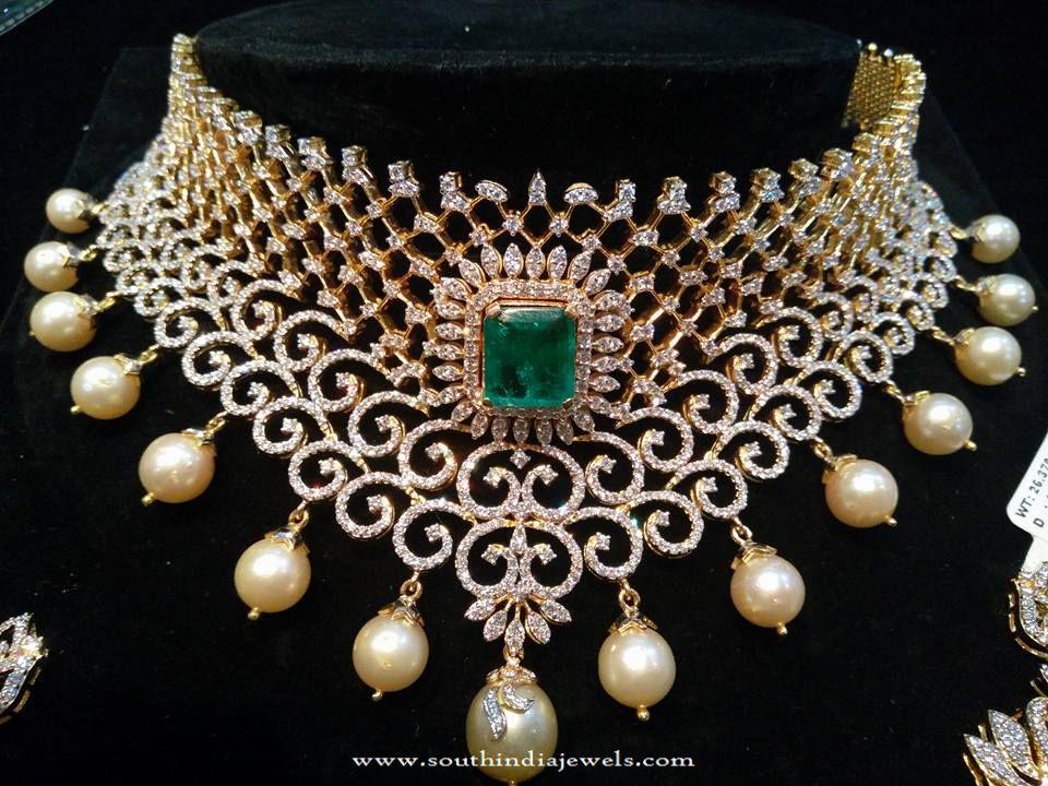 Hyderabad Diamond Jewellery Designs