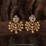 Gorgeous Gold Antique Jewellery Earrings