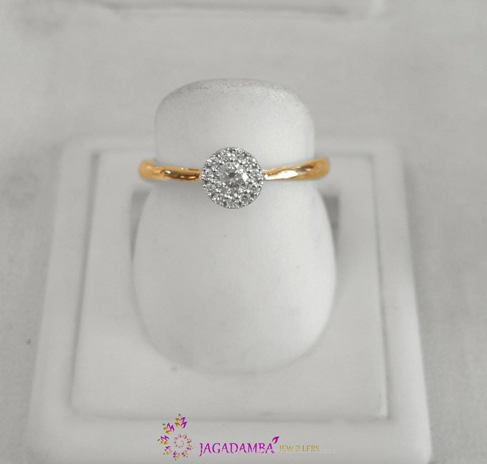 Simple Diamond Ring Design