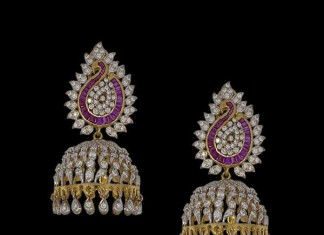 New Diamond Jhumka Designs