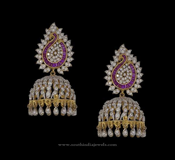 New Diamond Jhumka Designs