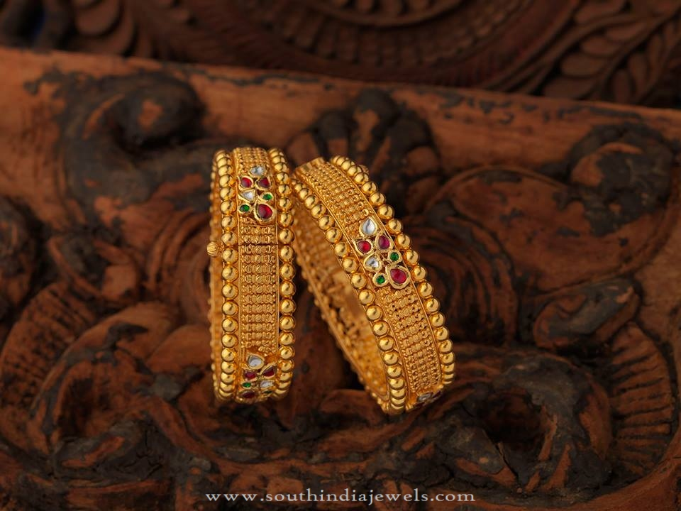 South Indian Antique Jewellery Bangles