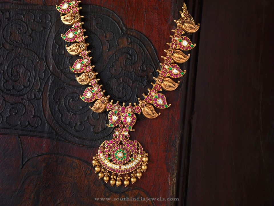 South Indian Antique Kemp Jewellery