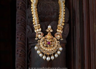 Traditional Antique Jewellery Long Necklace Design