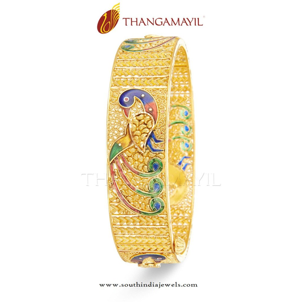 Gold Bangles for Marriage