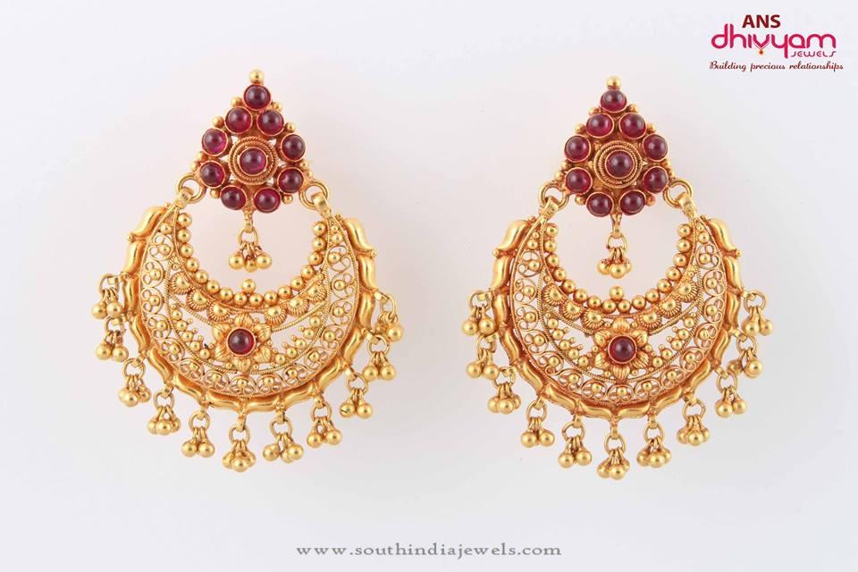 Gold Antique Kemp Earrings