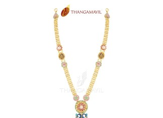 Gold Long Necklace New Designs