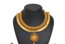 Gold Plated Kasumalai Set