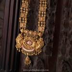 Indian Antique Temple Jewellery Haram Design