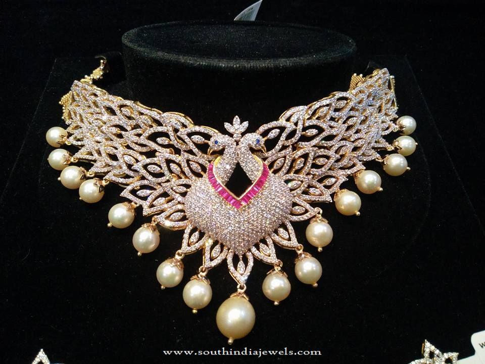 Indian Designer Diamond Choker Necklace