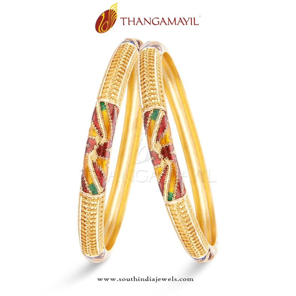 Indian Gold Bangles Jewellery