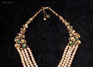 Indian Pearl Bridal Jewellery