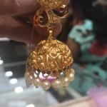 28 Grams Gold Latest Model Jhumka