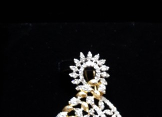 Designer Gold Diamond Pendant