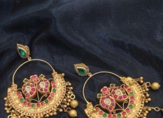 Gold Antique Earrings 2016