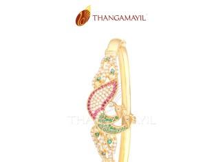 Gold CZ Stone Bracelet Design