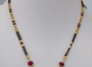 rubies shwitaan black emeralds gold with chain chains designs bead beads and beaded
