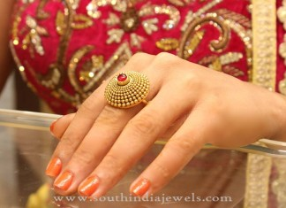 Gold Bridal Ring Design
