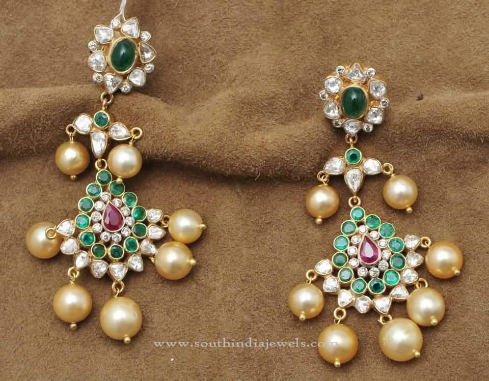 Gorgeous Gold Earring Design Images
