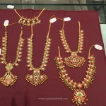 Latest Model Gold Kemp Necklace Designs