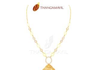 Gold Short Necklace Design 2016