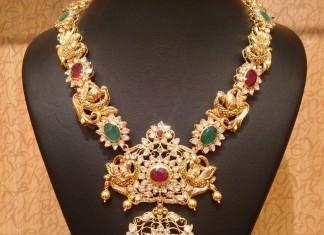 Gold Antique Necklace Model 2016