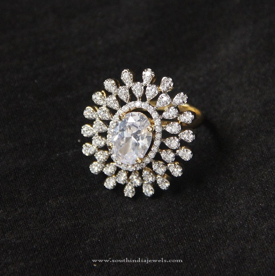 Imitation CZ Ring Design