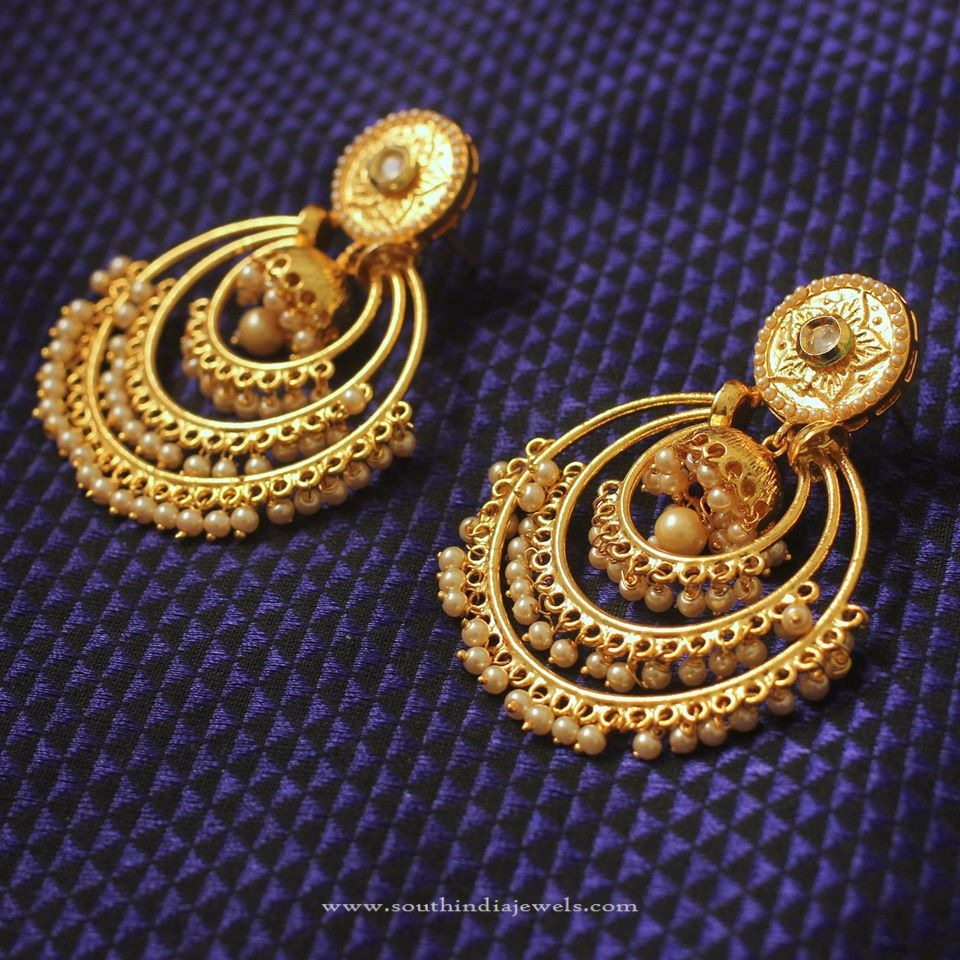 Imitation Polki Earrings