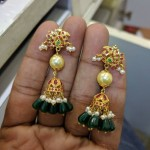 New Ruby Emerald Jhumka Model