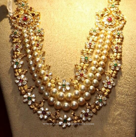 South Indian Gold Jewellery Necklace