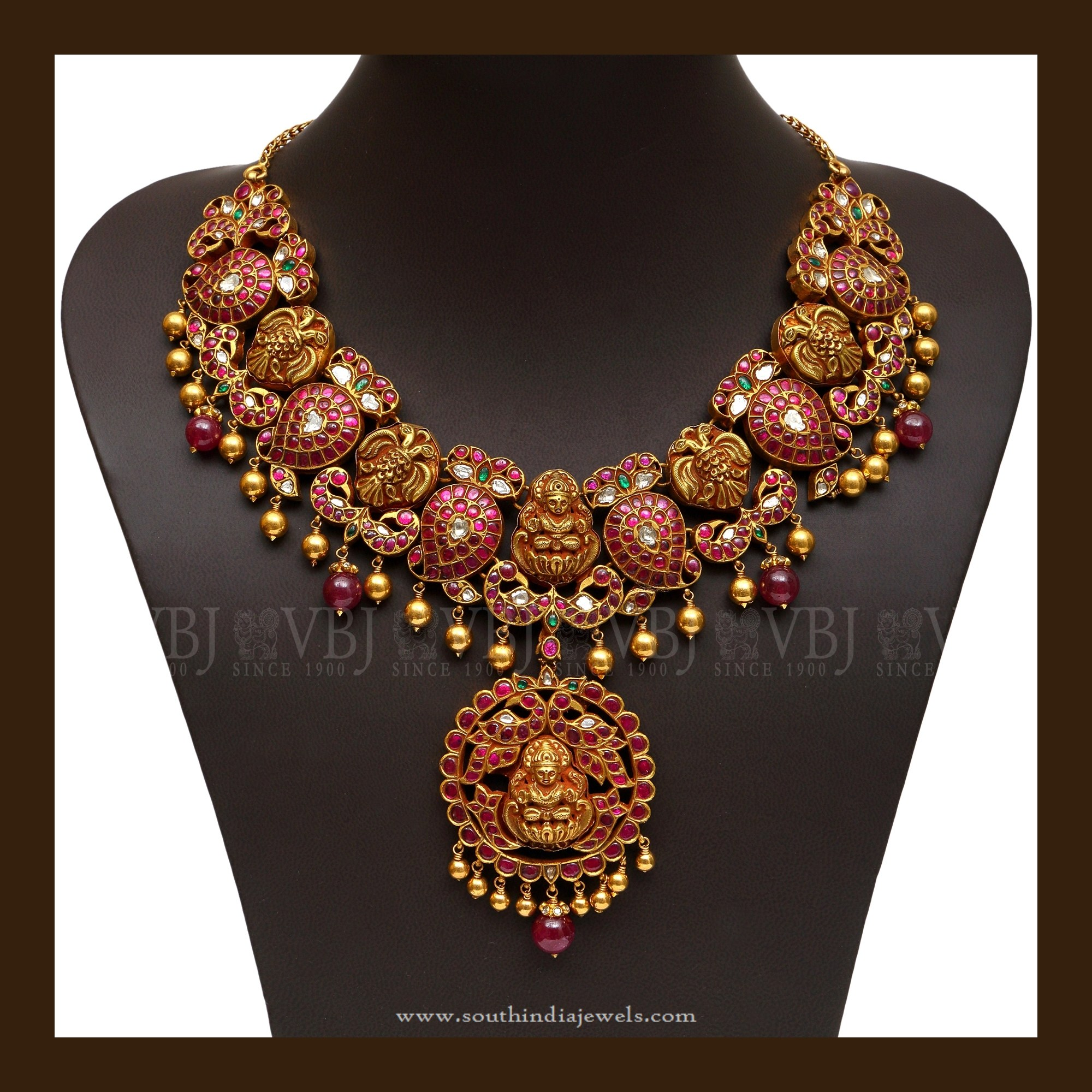 Traditional Gold Antique Jewellery Designs South India