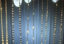 Gold Long Mangalsutra Chains