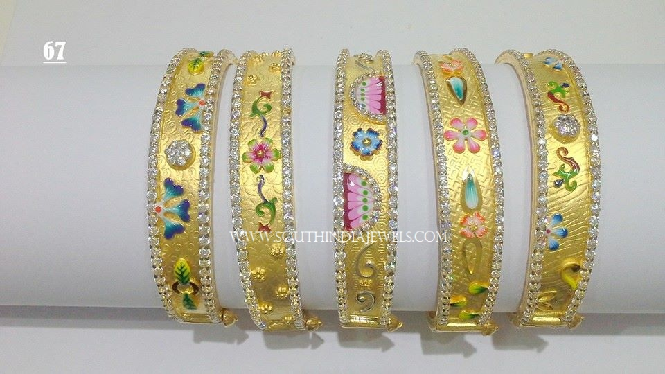24 Grams Gold Bangle Designs