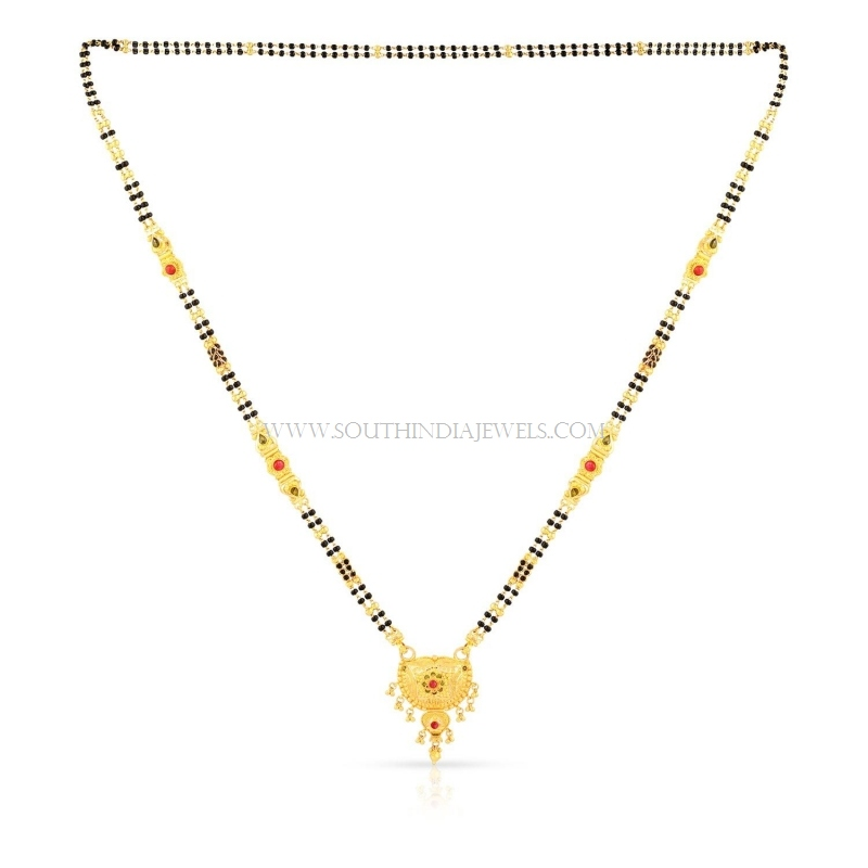 Gold Mangalsutra Designs with Price ~ South India Jewels