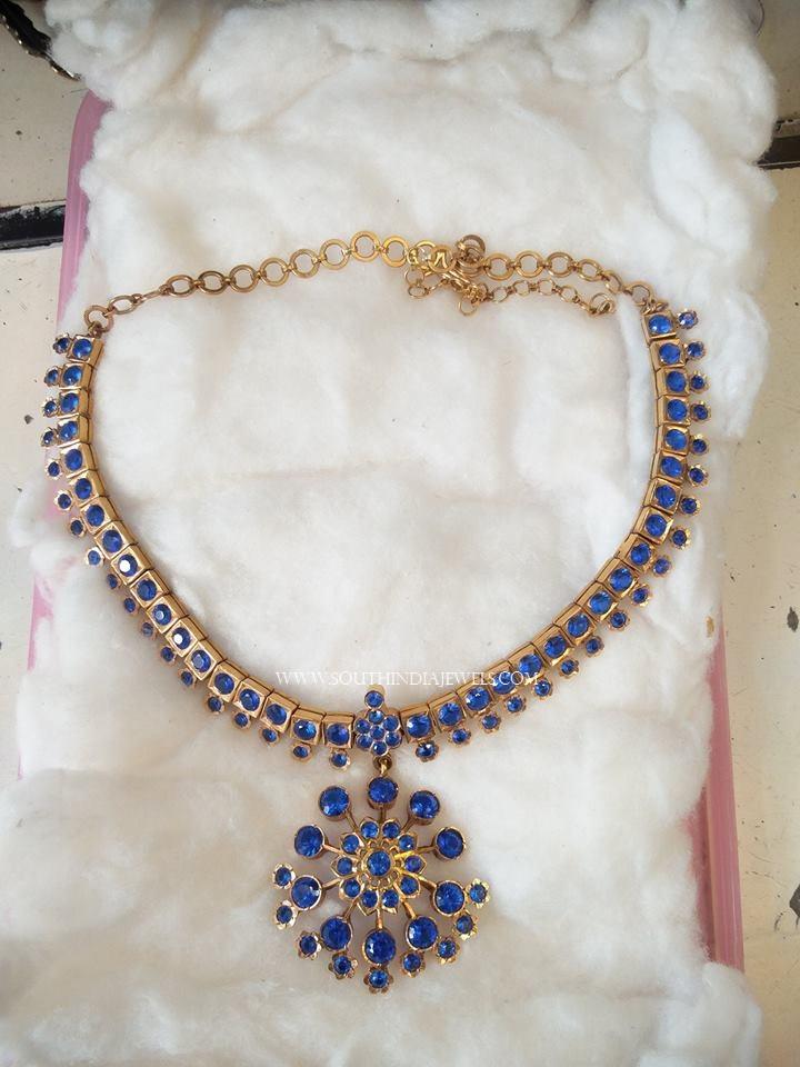 50 Grams Gold Necklace Design