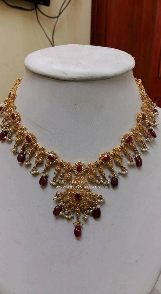 60 Grams Gold Necklace Design
