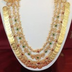 Beautiful Kasu Mala Necklace Design