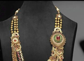 Beautiful Long Step Necklace Design
