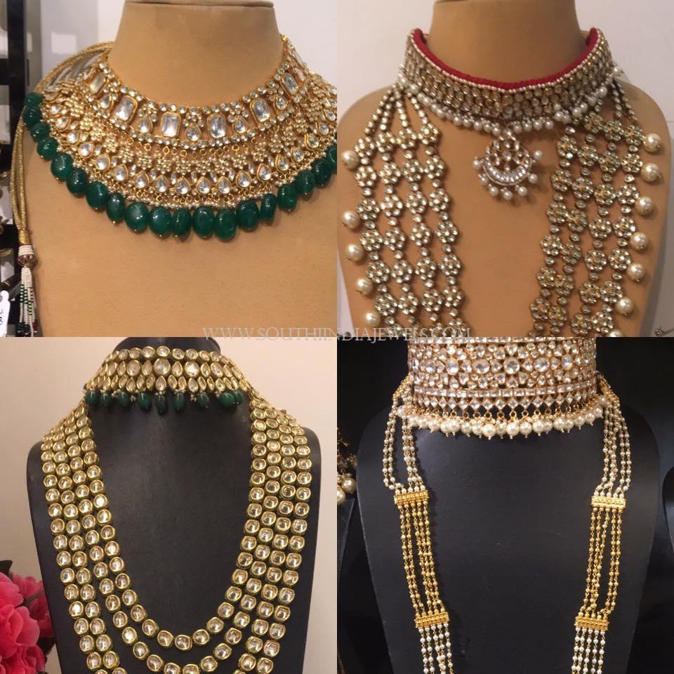 962b996d25 Bridal Kundan Jewellery Sets ~ South India Jewels