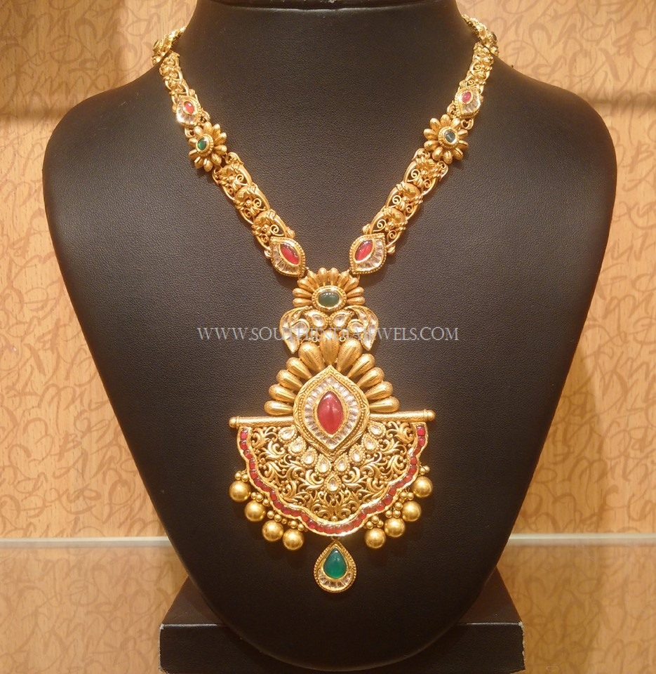Long Necklace Designs | Gold Haram | Diamond Haram