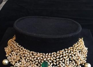 Indian Diamond Choker Necklace