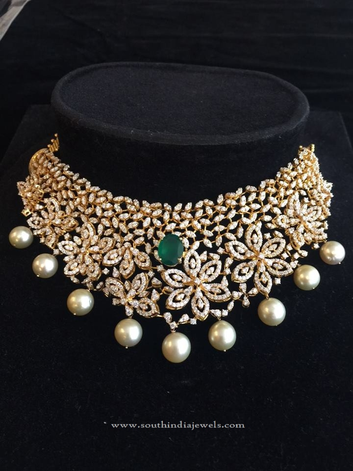 Indian Diamond Choker Necklace