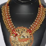 Gold Antique Necklace Design