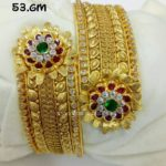 Gold Cuff Bangles