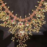 22KT Gold Guttapusalu Necklace