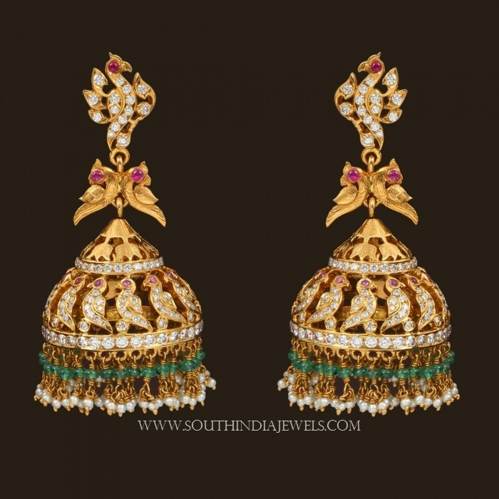 Gold Jhumka Designs With Weight And Price