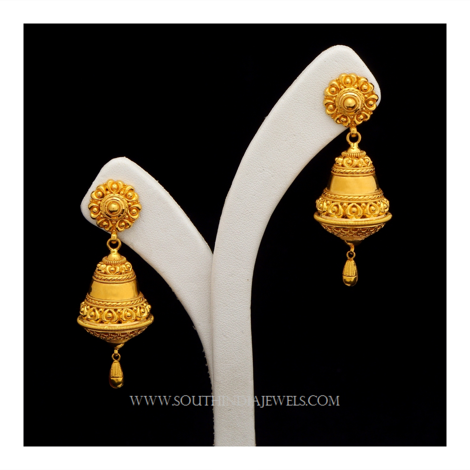 with pear dancing l shape earrings gold earring balls small designs design
